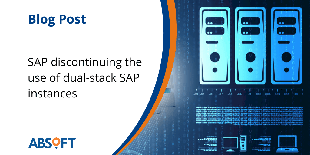SAP discontinuing Dual-Stack