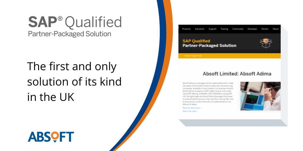 SAP qualified partner-packaged solution UK ADIMA