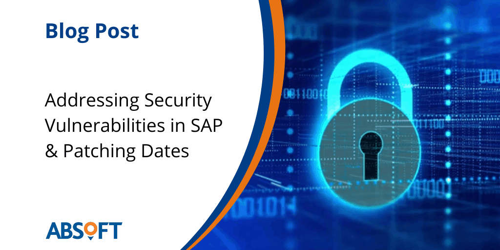 Addressing Security Vulnerabilities in SAP Software