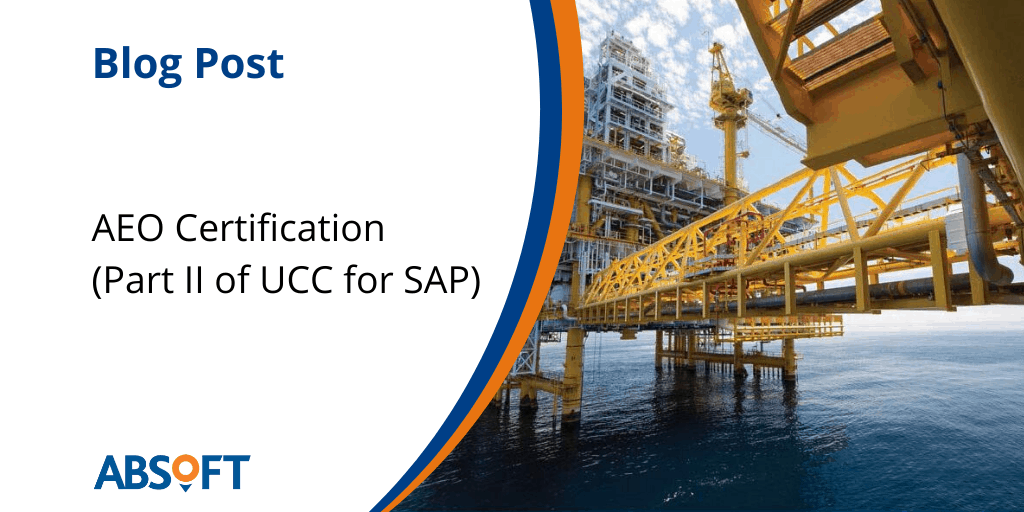 Authorised Economic Operator and SAP
