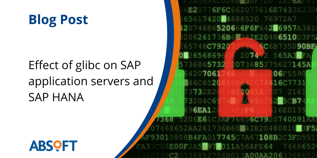 glibc effect on SAP application servers