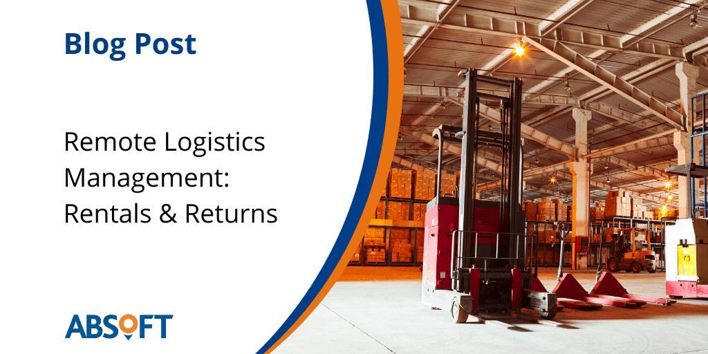 SAP Remote Logistics Management