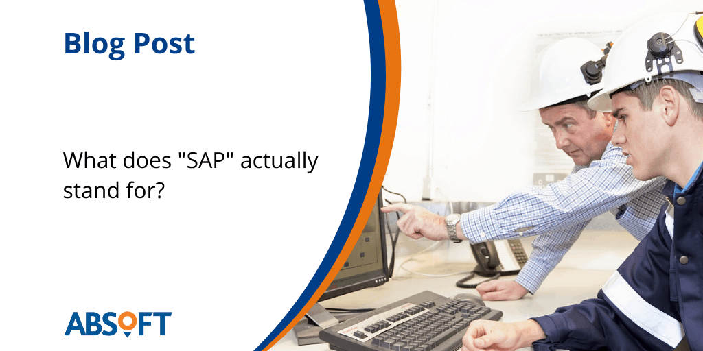 What does SAP stand for