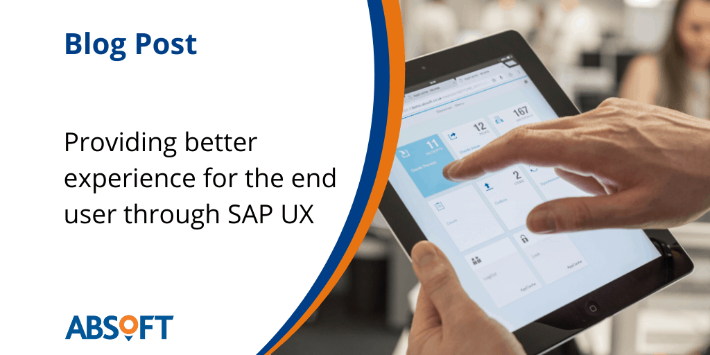 SAP UX for business