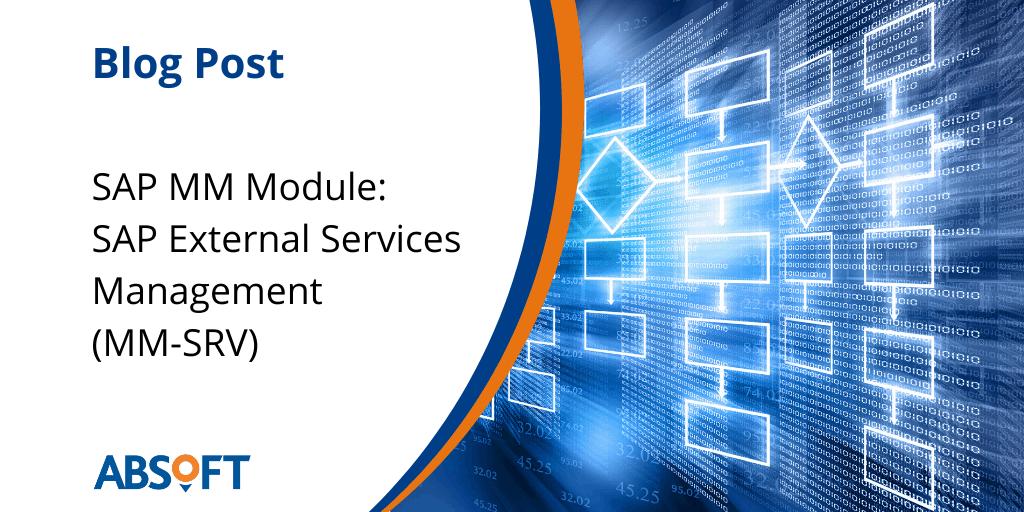SAP External Services Management