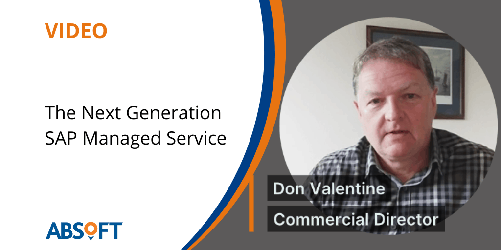 SAP Managed Service Next Gen Video Don Valentine