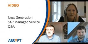 Absoft Next Generation SAP Managed Service