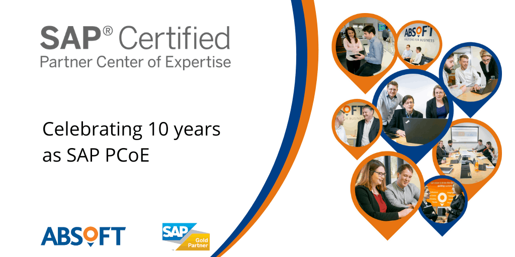 10 years as SAP Partner Centre of Expertise