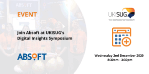 Absoft at UKISUG Digital Insights Symposium Online Event 2020