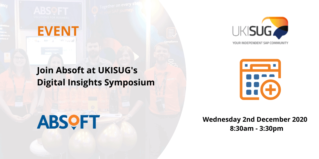 Absoft at UKISUG Digital Insights Symposium Online Event 2020