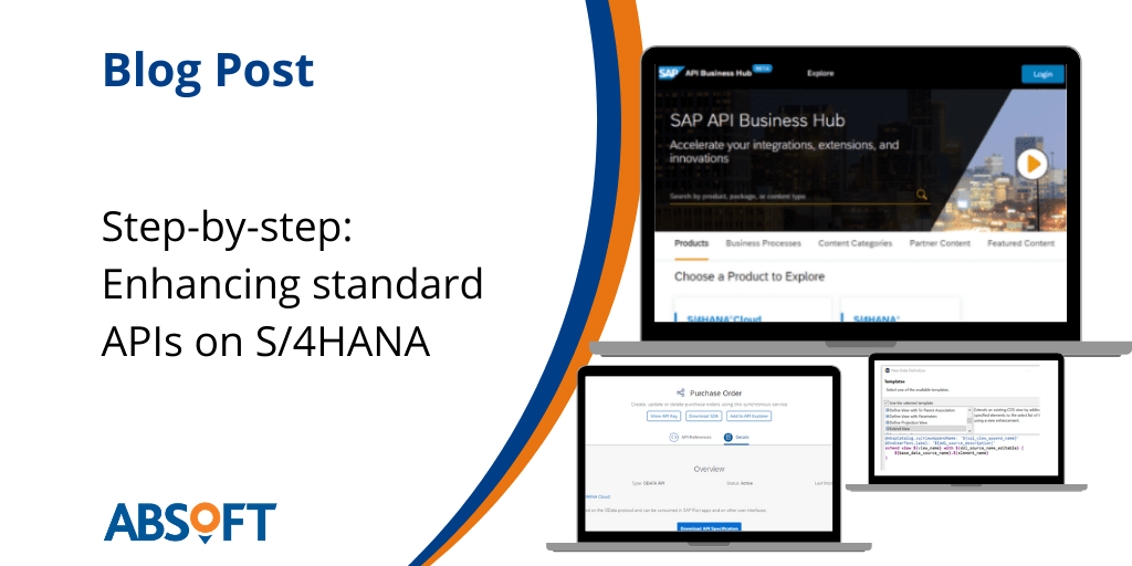 SAP APIs Enhancing standard APIs on S4HANA