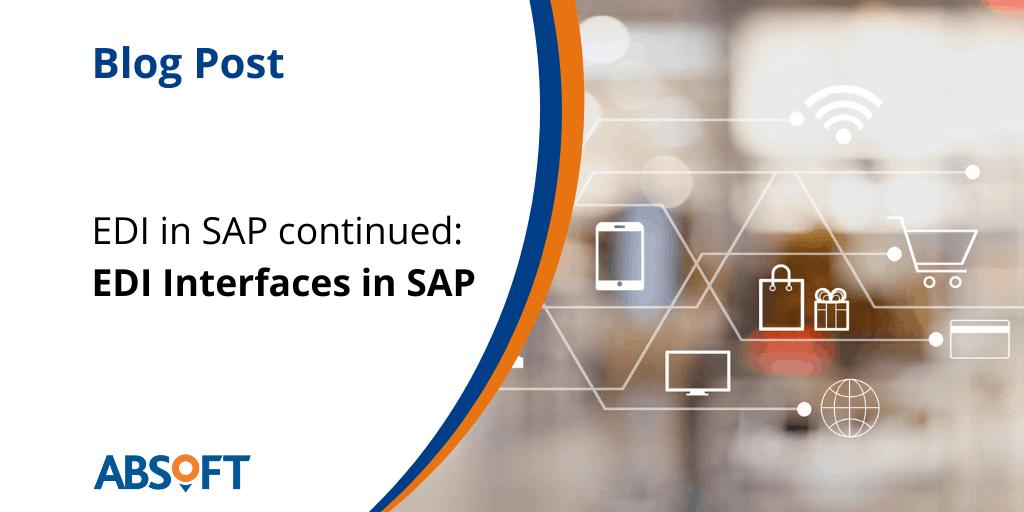 EDI Interfaces in SAP