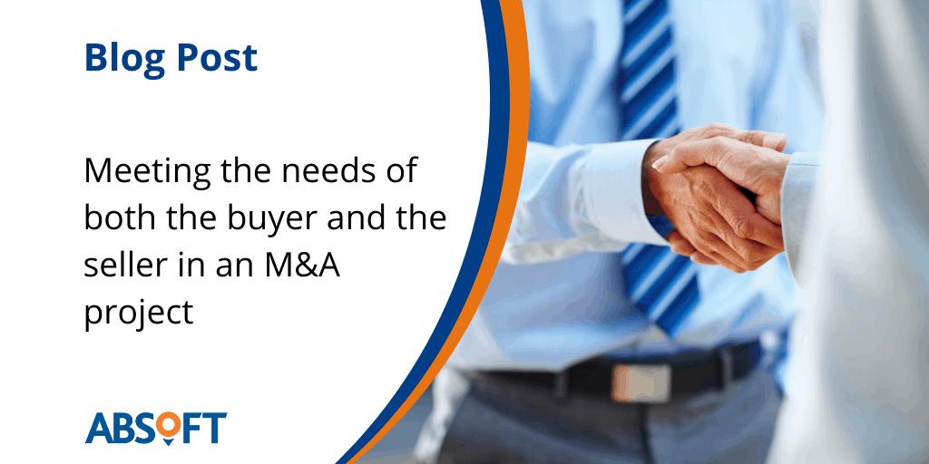 ERP SAP Mergers Acquisitions Meeting Buyer Seller Needs
