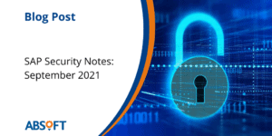 Security Notes September 2021