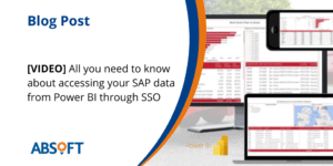 Single sign-on for SAP in Power BI